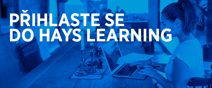 Sign up to Hays Learning