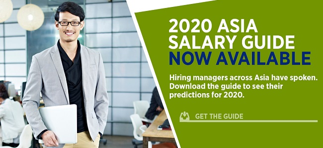 Asia Salary Guide 2020