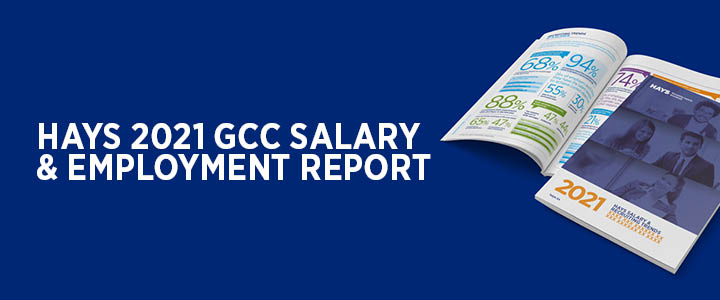 Hays 2021 Salary & Employment Report - Out now